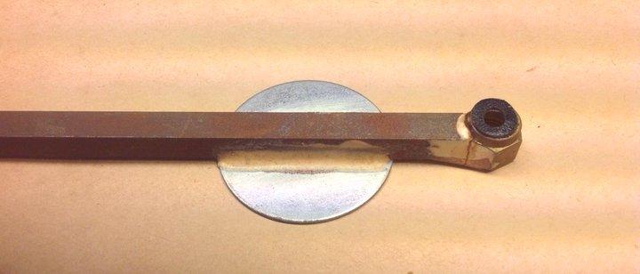 Deflection Rod Underside Detail